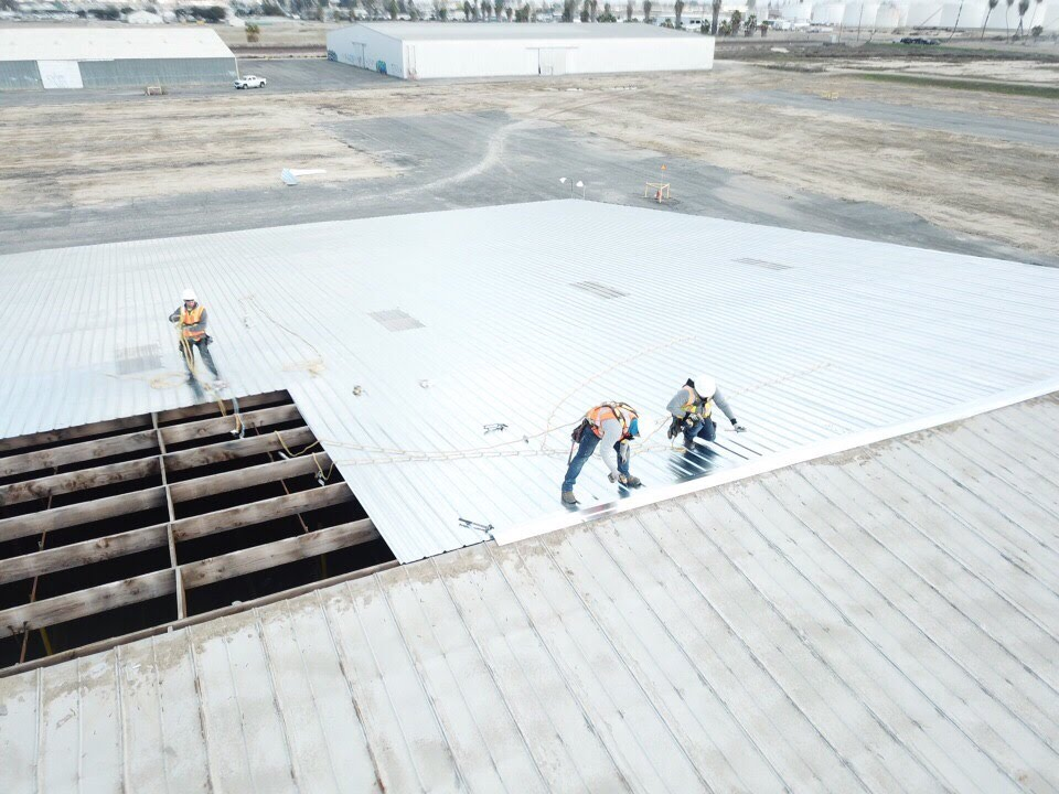Commercial Metal Roofs in Central California & the Bay Area | Castone Roofing and Construction